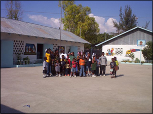 Children in the orphanage for healthy children